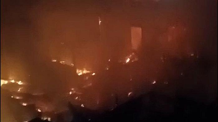 BREAKING NEWS- Usai Sahur Terakhir di Bulan Puasa, 2 Rumah di KuninganTerbakar, Satunya Milik Ustaz