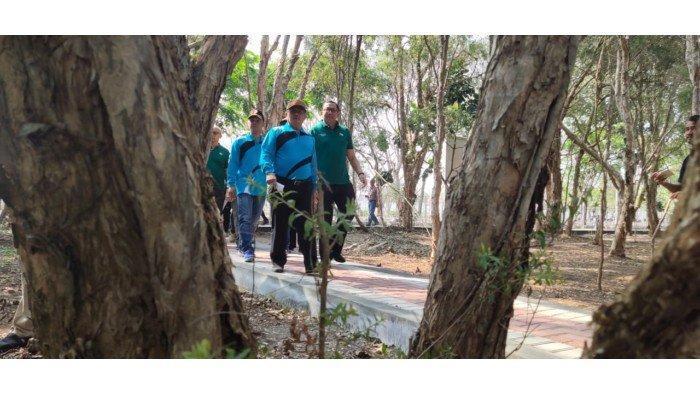 Siap Tarik Wisatawan, Bupati Indramayu Rencana Hadirkan Kebun Binatang Mini di Hutan Kota Kayu Putih