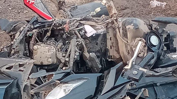 Pesepeda Ontel Tewas dalam Kecelakaan Beruntun di Indramayu, Mobil Seruduk Motor, Sepeda dan Rumah