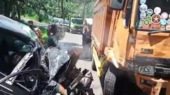 Avanza yang Tabrakan dengan Truk Baru Jemput TKW, Bawa Rombongan dari Bandara