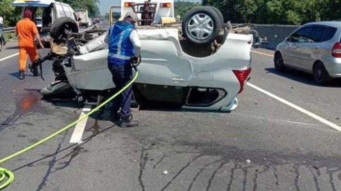 Kecelakaan Maut di Cipularang KM 86 Purwakarta Korban Meninggal Dunia Bertambah Menjadi Tiga Orang