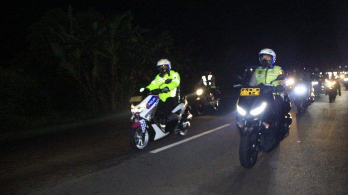 Polisi Bubarkan 200 Motor yang Hendak Sunmori Subang-Lembang, Sebabkan Macet dan Langgar Prokes