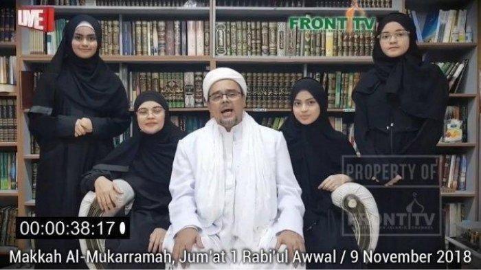 LIVE STREAMING Sedang Berlangsung Akad Nikah Najwa Shihab Putri Habib Rizieq Shihab dengan Irfan