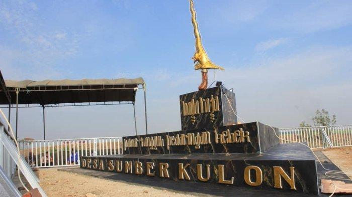 Kenang Sejarah, Monumen Keris Naga Raja Dijadikan Simbol Desa Sumber Kulon Majalengka