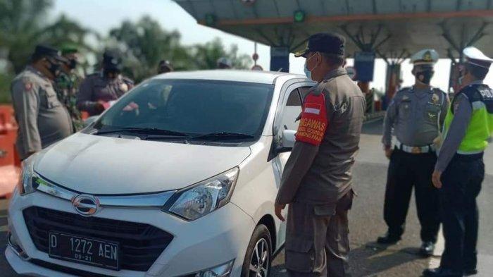 Kendaraan dari Luar Daerah Bakal Langsung Diputarbalikkan Petugas di 6 Pos Penyekatan Indramayu Ini