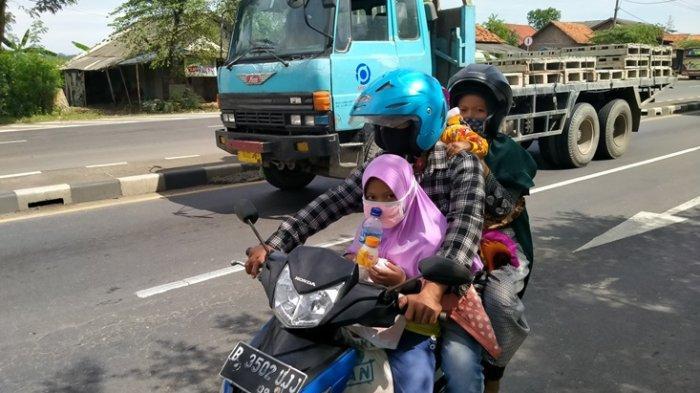 H-3 Lebaran, Jalur Pantura Indramayu Didominasi Pemotor, Mau Pulang Kampung, Datang dari Jakarta