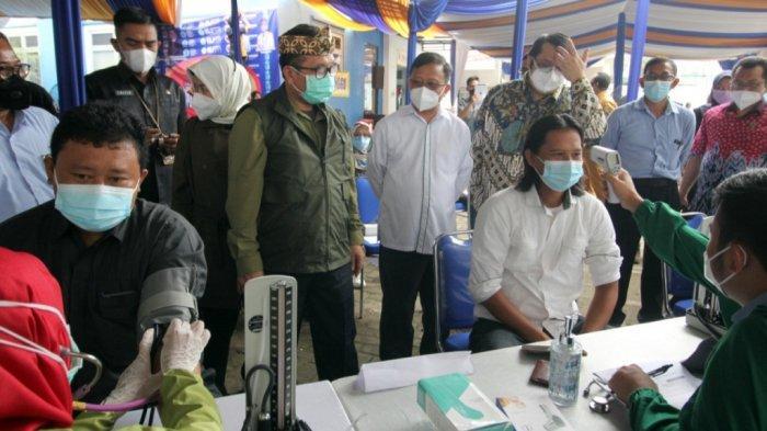 Pemberian Dosis Kedua Vaksinasi Covid-19 Tahap II di Kabupaten Cirebon Dimulai Hari Ini