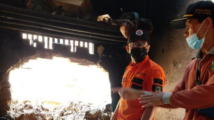 Rumah Warga di Kuningan Jebol Diterjang Longsor, BPBD Imbau Masyarakat Waspadai Potensi Bencana Alam