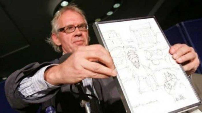 Kepalanya Dihargai Miliaran oleh Al Qaeda, Kartunis Pembuat Kartun Nabi Muhammad Berakhir Tragis