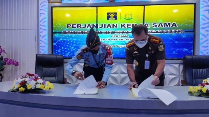 Tangani Overstaying Barang Rampasan dan Sitaan, Rupbasan Gandeng Kejari Kota Cirebon