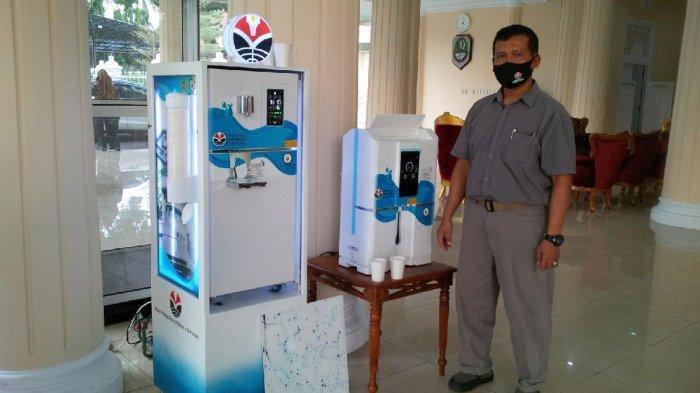 UPI Bandung Hadirkan Dispenser Udara tanpa Galon di Pendopo Majalengka, Airnya Langsung Bisa Diminum