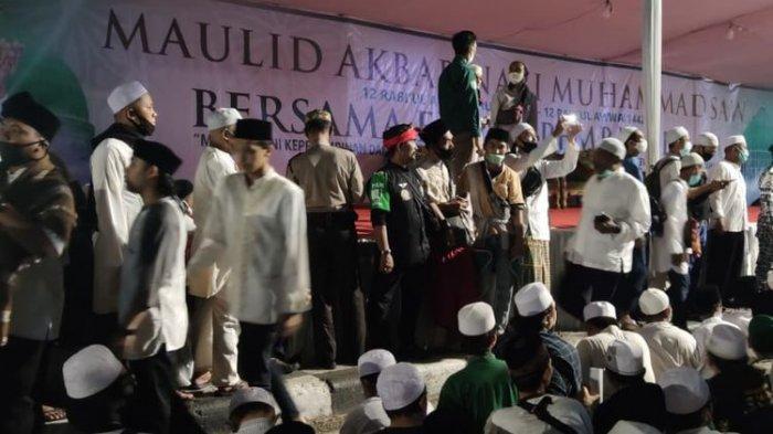 Polisi Jelaskan Habib Rizieq Ajak Massa Hadir di Petamburan pada Sidang Praperadilan