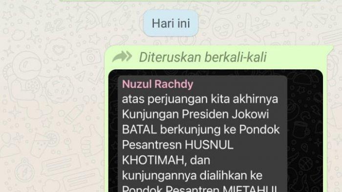 Video Ketua DPRD Kuningan Cekcok dengan Warga Viral, Dipicu Chat Soal Kunjungan Jokowi Bocor