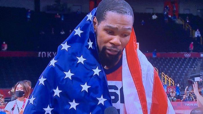Kevin Durant Bawa Tim AS Raih Medali Emas Basket Olimpiade, di Final Sumbang 30 Angka Tekuk Prancis
