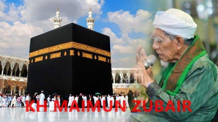 KISAH KH Maimun Zubair Alias Mbah Moen Mimpi Didatangi Nabi Muhammad SAW: Beliau Berpesan pada Saya