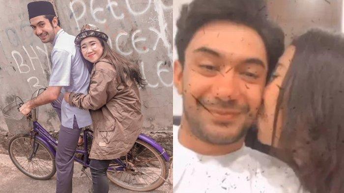 Komika Kiky Saputri Pamer Kemesraan dan Dicium Aktor Tampan Reza Rahadian, Pacaran?