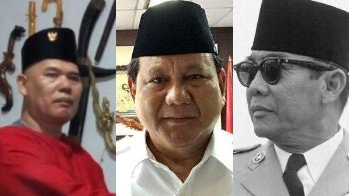 Anggota King Of The King Suruh Prabowo Beli Senjata, Ngaku Miliki Rp60 Ribu Triliun dari Soekarno