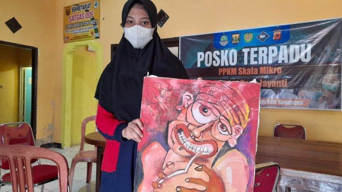 Kisah Inspiratif Siti Nurfadillah Gadis Tunarungu yang Miliki Bakat Melukis, Juara Tingkat Provinsi