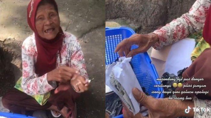 Kisah Nenek Penjual Piring Ditipu Pembeli, Barang Dagangannya Dibayar Dengan Amplop Isi Kertas Koran
