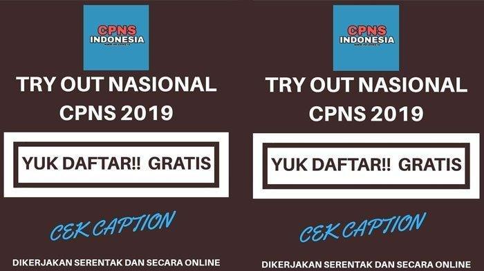 5 Fakta Seputar Try Out Nasional CPNS 2019 Online, Konfirmasi BKN Hingga Tanggapan Admin