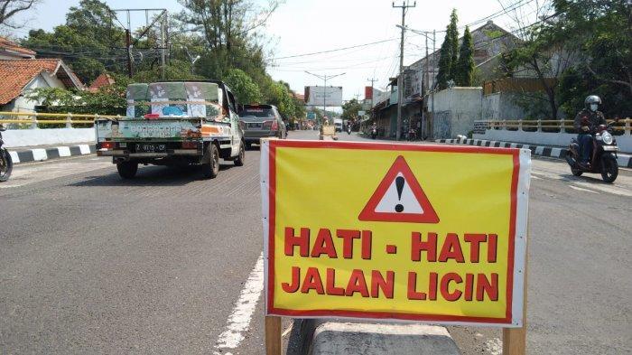 Hati-hati Lewat 3 Jembatan Jalan KH Abdul Halim Majalengka, Kondisi Aspalnya Membahayakan Pengendara