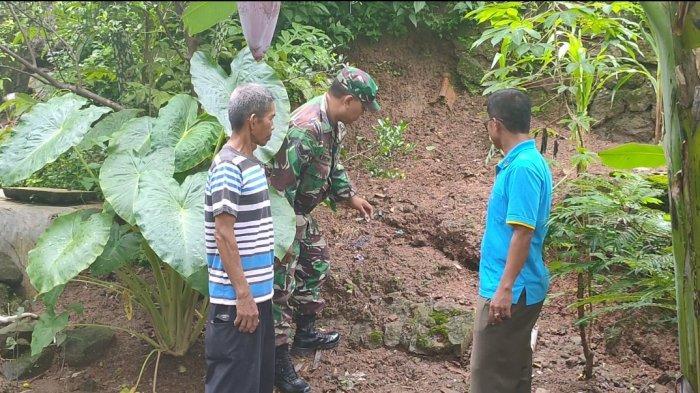 Breaking News: Tanah Ambles di Desa Ujungberung Majalengka, 15 Rumah Warga Terancam