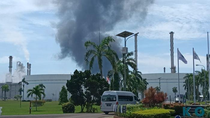Tinggal 1 Tangki yang Masih Terbakar di Kilang Minyak Pertamina Indramayu, Ini Sebab Api Muncul Lagi