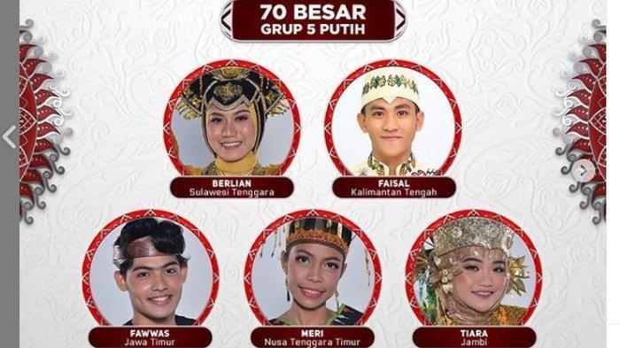 Hasil TOP 70 LIDA 2012 Grup 5 Putih, Duta dari Nusa Tenggara Timur Harus Tersenggol
