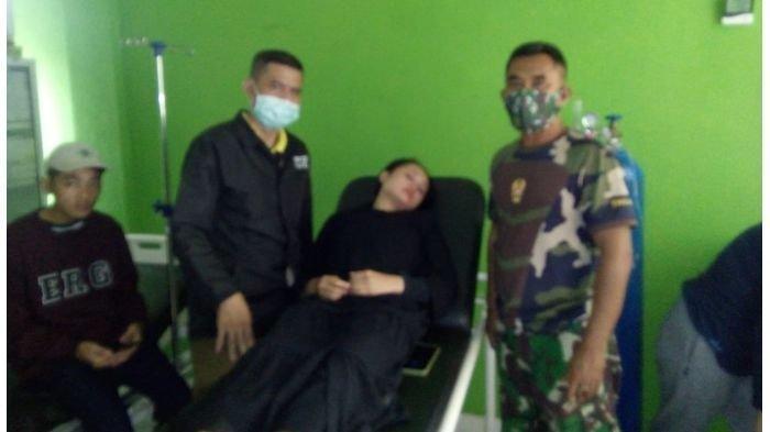 Gadis Cantik Jadi Korban Begal di Cikidang Sukabumi, Alami Luka di Kepala Dipukul Popor Senjata Api