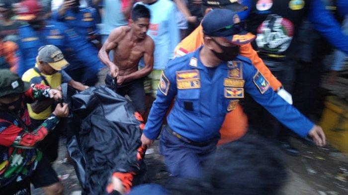 Dian Luthfi Korban Tenggelam di Perairan Santolo Berhasil Ditemukan Dengan Kondisi Meninggal