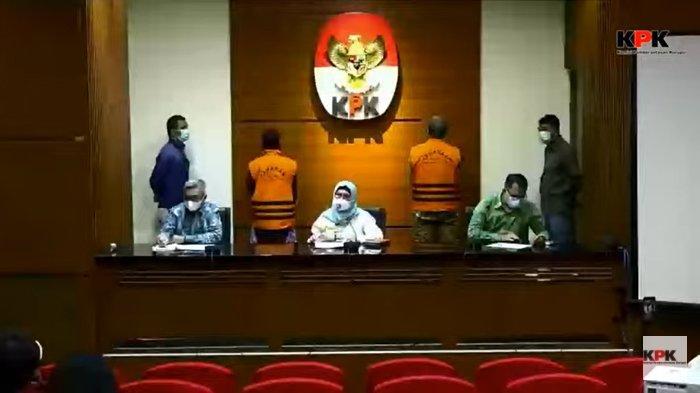 Ade Barkah dan Siti Aisyah Langsung Ditahan di Rutan Cabang KPK Gedung Merah Putih Sampai 4 Mei 2021