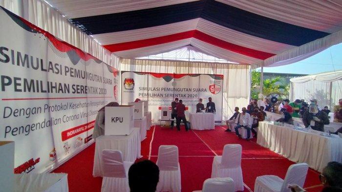 Ini Daftar TPS Masing-masing Pasangan Calon di Pilkada Indramayu 2020