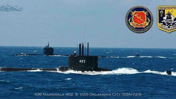 INI Detik-detik Kapal Selam KRI Nanggala 402 Hilang Kontak di Perairan Bali, Bawa 53 Awak