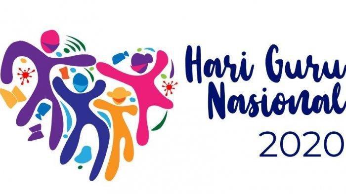 Download Logo Hari Guru Nasional 2020 dari Kemendikbud, Cek Link Download Spanduk dan Baliho Juga