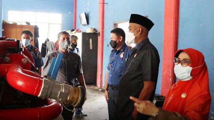 Kunjungi Kantor Damkar, Komisi I DPRD Kota Cirebon Prihatin, Ini yang Terjadi dengan Gedung Damkar