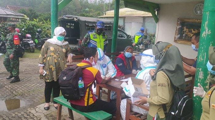 Wisatawan di Majalengka Jalani Rapid Tes di Lokasi Wisata, Satgas Targetkan 300 Per Hari