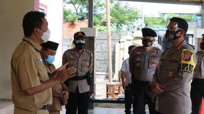 Kunjungi Rumah Sakit, Polres Majalengka Bahas Sinergitas Penanganan Pemulasaraan Jenazah Covid-19