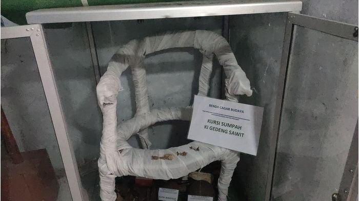Kursi Sumpah Ki Ageng Sawit di Masjid Jami Darussalam Majalengka, Tempat Uji Kebohongan Orang Dulu