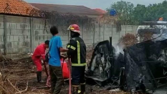 Lahan Kosong di Areal RSUD Indramayu Terbakar, Asap Hitam Pekat Sempat Bikin Warga Geger