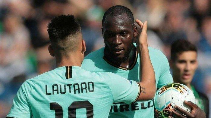 Duo Inter Milan, Lautaro Martinez-Romelu Lukaku Bisa Jadi Duet Terbaik di Dunia, Kata Antonio Conte