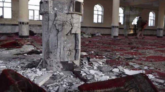 Mencekam Bom Meledak di Masjid Kota Kunduz Afhanistan Saat Salat Jumat, 50 Orang Disebut Meninggal