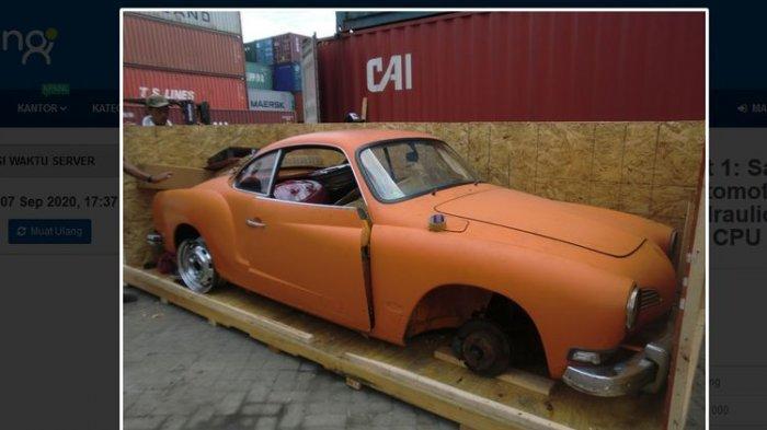 Lelang Bodi dan Bagian Mobil Marcedes Benz 280 CE  dan VW Karmann Ghia, Uang Jaminan Rp 56 Juta