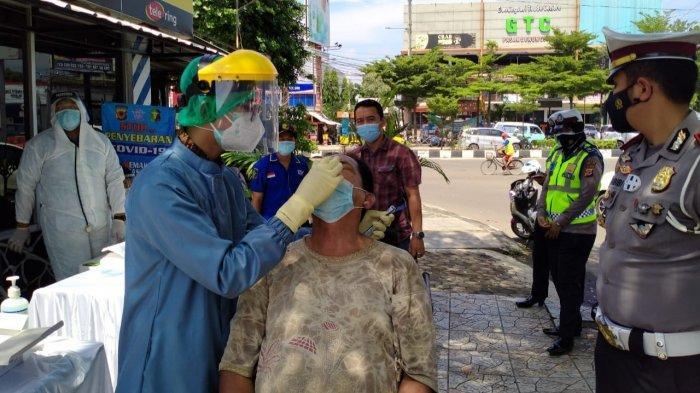 Libur Imlek 2021 Satlantas Polres Cirebon Kota Gelar Rapid Test Antigen Bagi Pengendara