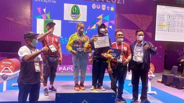 Atlet Angkat Berat dari Kuningan Peraih Medali Emas PON XX Papua, Ternyata Punya Segudang Prestasi