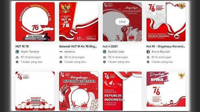 CARA Membuat Twibbon HUT Ke-76 RI, Berikut Pilihan Link Bingkai Terbaik di Twibbonize.com