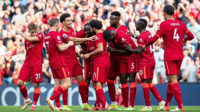 Hasil Liga Inggris, Sadio Mane Cetak Gol ke-100, Liverpool Tekuk Crystal Palace 3-0