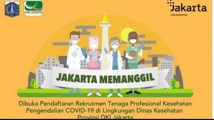 INFO Loker Pemprov DKI Jakarta Buka Lowongan Kerja untuk Nakes Pengendalian Covid-19, Butuh Banyak!