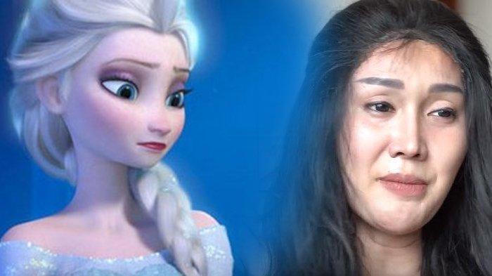 Lucinta Luna Pamer Hasil Makeup, Fans Bilang Mirip Elsa Frozen, Haters Malah Bilang Seperti Waria