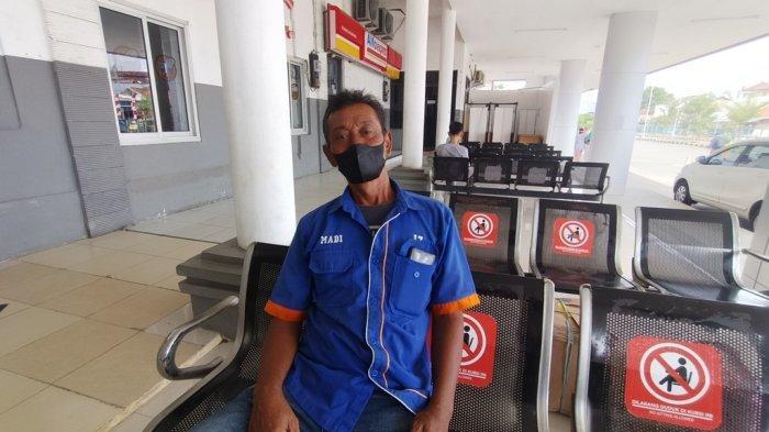 Kisah Porter di Stasiun Jatibarang, Tetap Setia Tunggu Penumpang Demi Bawa Pulang Sedikit Rezeki