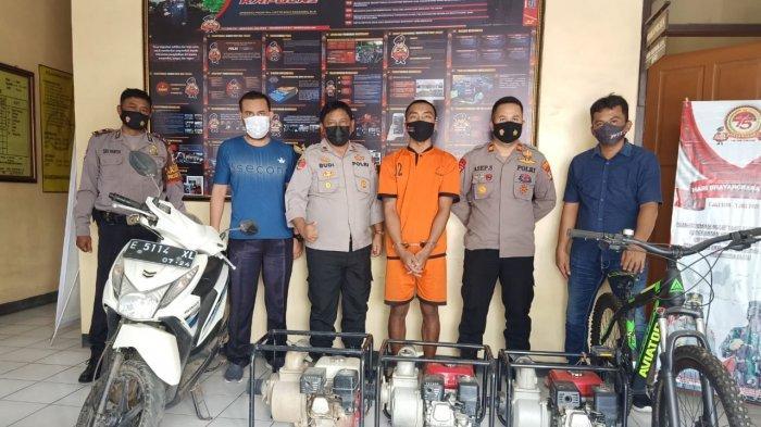 Pria Pengangguran Ini Dibekuk Polisi karena Jadi Maling Spesialis Motor Tetangga di Majalengka